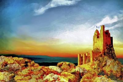 Painting - A Castle In Spain by Valerie Anne Kelly