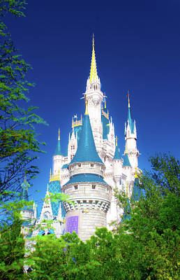 Photograph - A Castle In The Forest by Mark Andrew Thomas