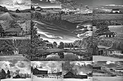 Mail Pouch Photograph - A Celebration Of Barns  Bw by Steve Harrington