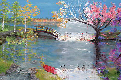 Painting - A Change Of Seasons by Ken Figurski