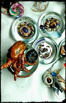 A Changed Octopus Art Print by Kirk Wieland