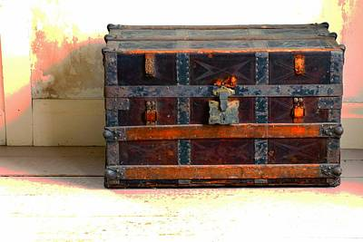 Photograph - A Chest Of Past Adventures by Marcia Lee Jones