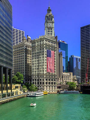 Photograph - A Chicago Fourth by Andrew Soundarajan