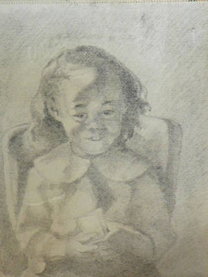 A Child Portrait Art Print