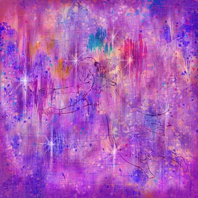 Enigma Digital Art - A Childhood Mystery by Rachel Christine Nowicki