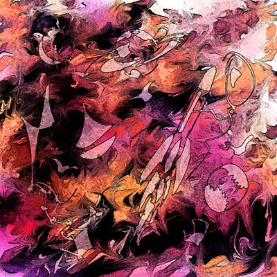 Psychological Digital Art - A Childhood by Rachel Christine Nowicki