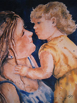 Wall Art - Painting - A Child's Love by Cheryl Bishop
