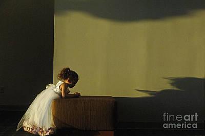 Flowers Photograph - A Child's Prayer by Gib Martinez