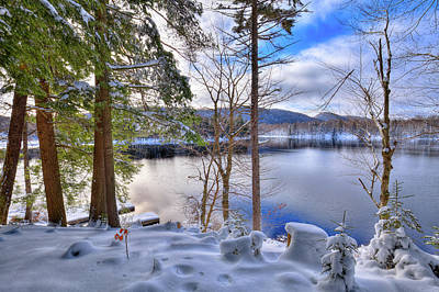 Photograph - A Chilly Day On West Lake by David Patterson
