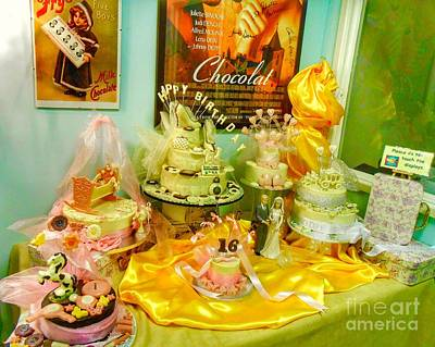 Photograph - A Chocolate Celebration Display by Joan-Violet Stretch