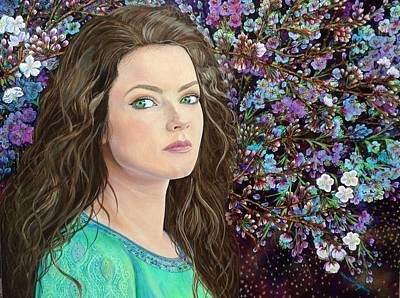 Lisa Rodriguez Painting - A Chosen Generation by Lisa Rodriguez