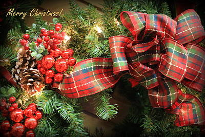 Photograph - A Christmas Greeting by Dora Sofia Caputo Photographic Design and Fine Art