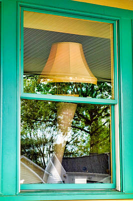 Photograph - A Christmas Story Leg Lamp by Robert Meyers-Lussier