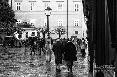 Photograph - A Christmas Walk by John Rizzuto