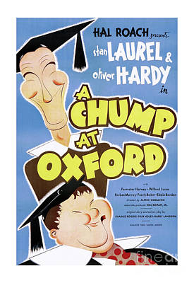 Photograph - A Chump At Oxford by Doc Braham
