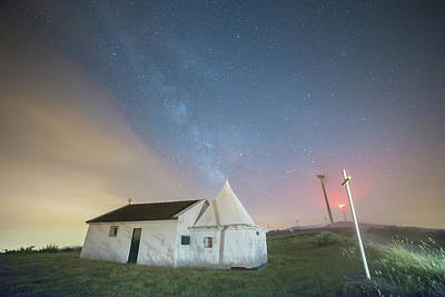 Photograph - A Church In Fafe by Bruno Rosa
