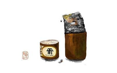 Digital Art - A Cigar  by Debbi Saccomanno Chan