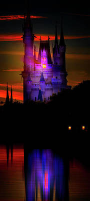 Photograph - A Cinderella Sunset by Mark Andrew Thomas