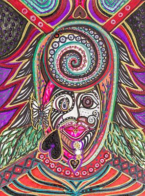 A Circle Of Thoughts Art Print