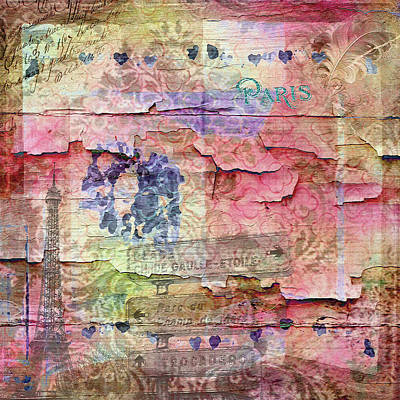 Mixed Media - A City Besieged by Paula Ayers