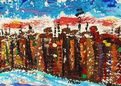 Painting - A City Like Baltimore by Mary Carol Williams