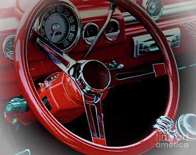Red Chev Photograph - A Classic In Everyone's Dreams by Al Bourassa