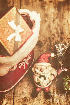 Toy Photograph - A Clause For A Merry Christmas  by Jorgo Photography - Wall Art Gallery