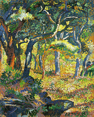 Painting - A Clearing In Provence by Mountain Dreams