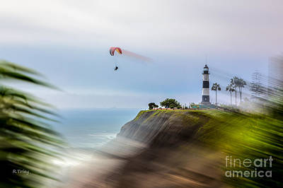 Photograph - A Cliff Hanger by Rene Triay Photography