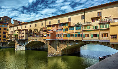 Photograph - A Closer Look To Ponte Vecchio by Fine Art Photography Prints By Eduardo Accorinti