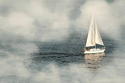 Photograph - A Cloud And Sail by Diana Angstadt