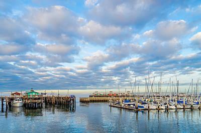 Photograph - A Cloudy Day In Monterey by Derek Dean