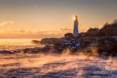 Maine Landscape Photograph - A Cold Start by Benjamin Williamson