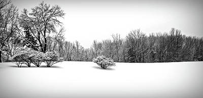 Photograph - A Cold Winters Day Black And White  by Aimee L Maher Photography and Art Visit ALMGallerydotcom