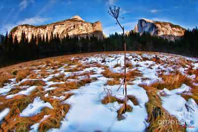 Photograph - A Cold Yosemite Evening by Blake Richards