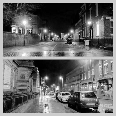 Photograph - A Collage Of Hope Street In Monochrome  by Joan-Violet Stretch