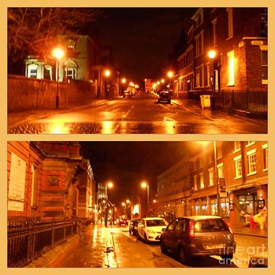Photograph - A Collage Of Hope Street by Joan-Violet Stretch