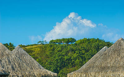 Photograph - A Collection Of Triangles In Bora Bora by Gary Slawsky