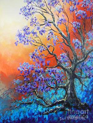 Painting - A Color Filled Day by Dan Whittemore