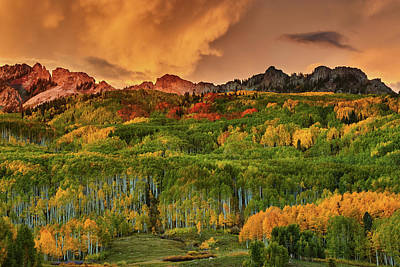 Photograph - A Colorado Autumn Along Kebler by John De Bord