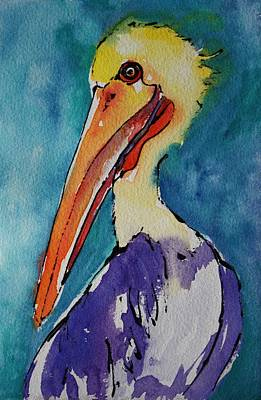 Painting - A Colorful Character by Tara Moorman