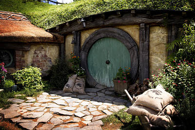 Photograph - A Colorful Hobbit Home by Kathryn McBride