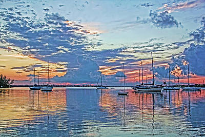 Photograph - A Colorful Morning by HH Photography of Florida