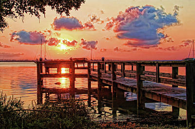 Photograph - A Colorful Sunrise by HH Photography of Florida