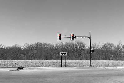 Photograph - A Commerce Drive by Richard Reeve
