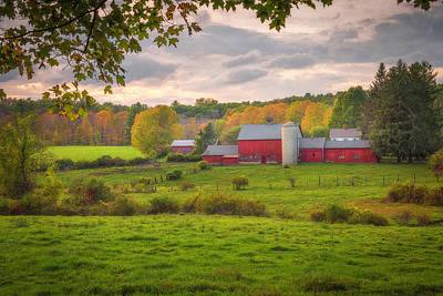 Photograph - A Connecticut Fall by Kim Carpentier