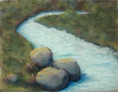 Painting - A Cool Dip by Laurie Morgan