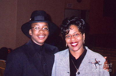 Photograph - A Cool Dude And His Mom by Angela L Walker