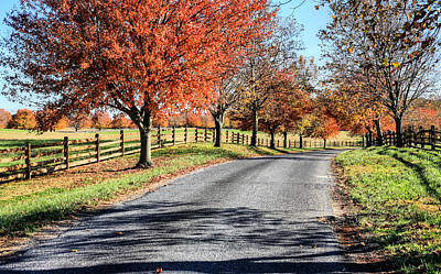 Photograph - A Country Drive by JC Findley