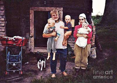Photograph - A Country Priest And His Family In Belarus by Sarah Loft